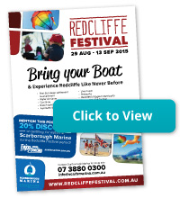 Scarborough Marina Redcliffe Festival flyer