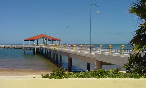 Scarborough Marina close to Redcliffe Jetty