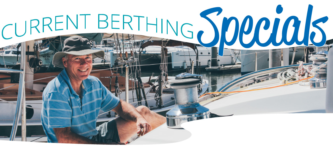 Berthing Specials Scarborough Marina Brisbane Marina