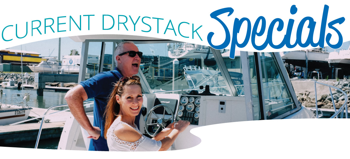 Scarborough Marina Drystack Brisbane Specials