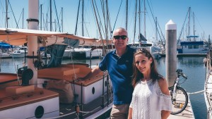Happy customers at our marina!