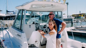 A day out on the boat. Our Brisbane marina is centrally positioned, with easy access to Moreton Bay and surrounds.