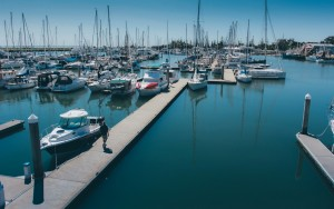 Scarborough Marina during a beautiful summer day!