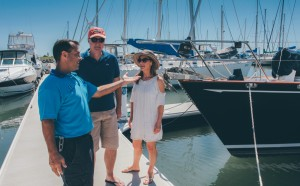 Tour of the the nicest Redcliffe Marina